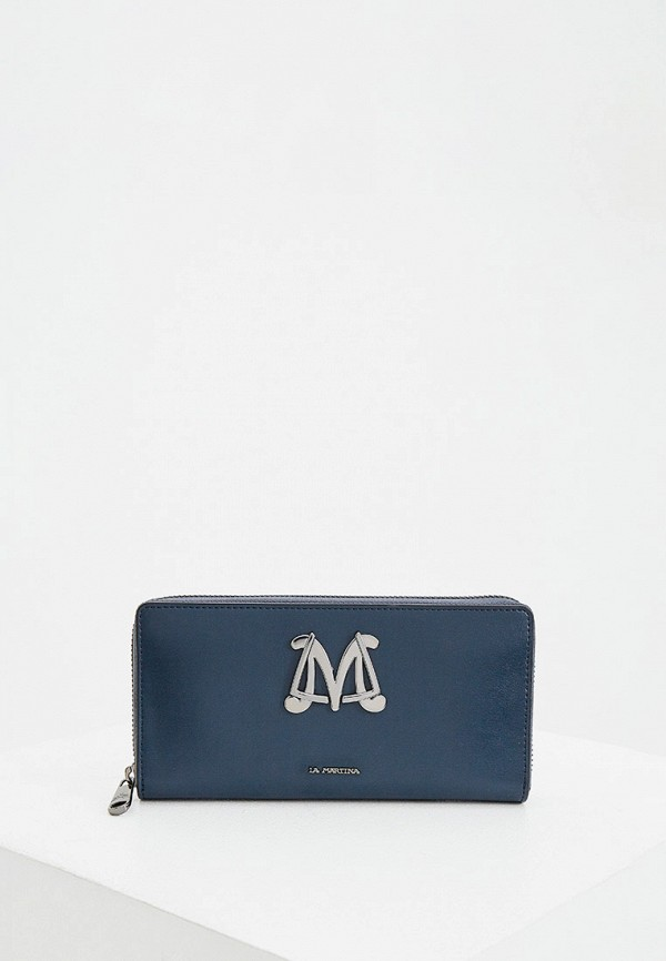 женский кошелёк la martina, синий