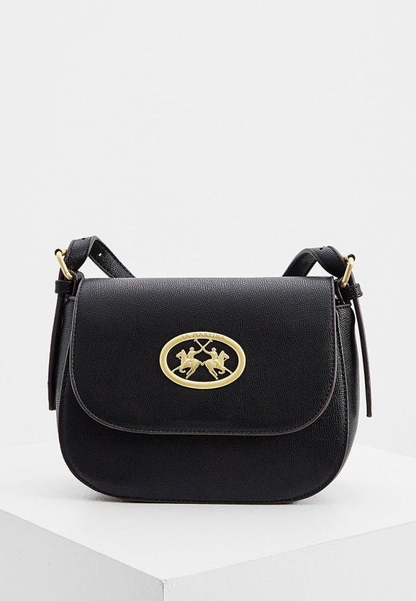 женская сумка la martina, черная