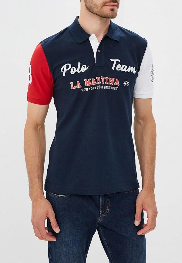 Поло La Martina La Martina LA095EMCEEV5 la martina солнцезащитные очки для мальчиков