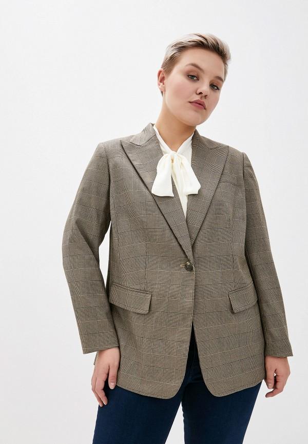 женский пиджак lauren ralph lauren woman, бежевый