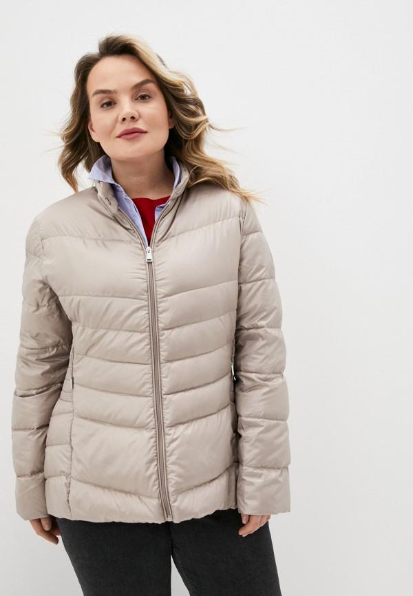 женская утепленные куртка lauren ralph lauren woman, бежевая