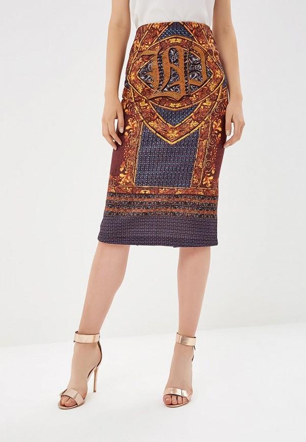 женская прямые юбка lança perfume, разноцветная