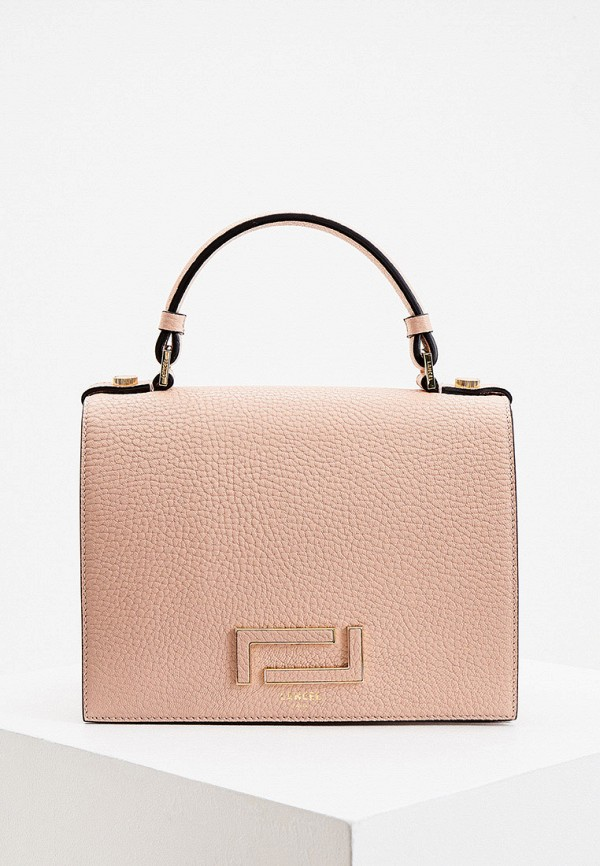 женская сумка lancel, розовая