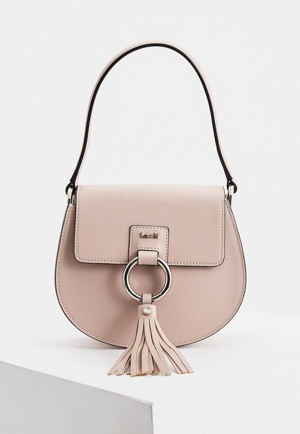женская сумка laurel, розовая