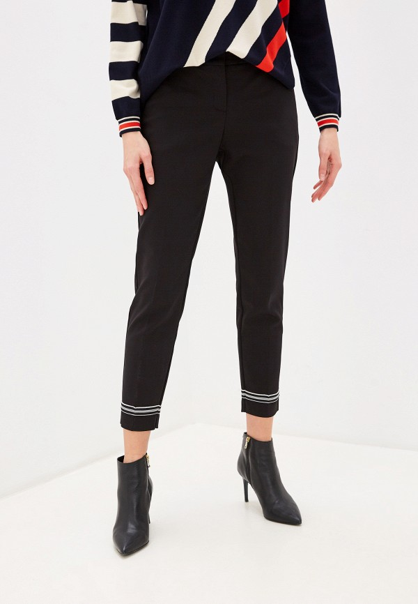 женские классические брюки laurel, черные
