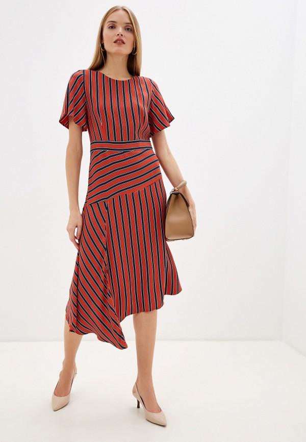 женское повседневные платье laurel, красное