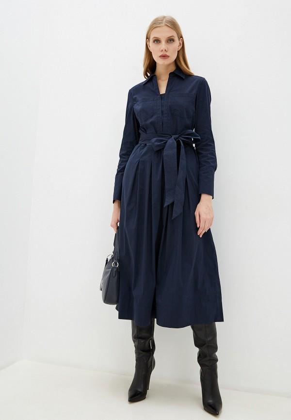 женское платье laurel, синее
