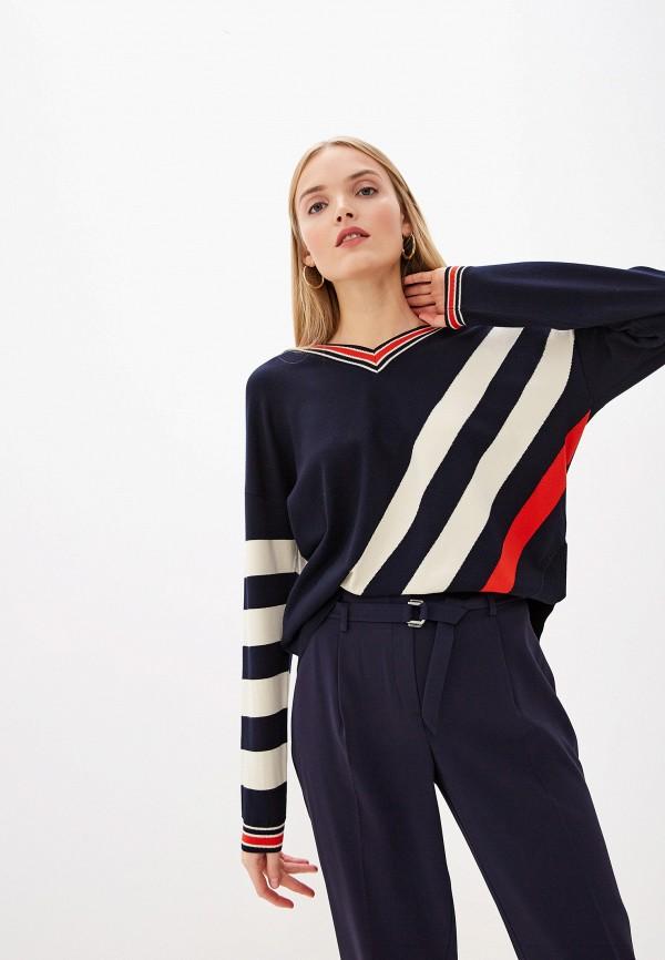женский пуловер laurel, синий