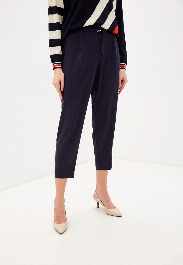 женские классические брюки laurel, синие