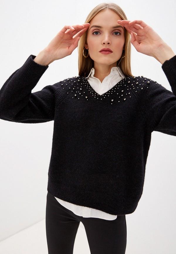 женский пуловер laurel, черный