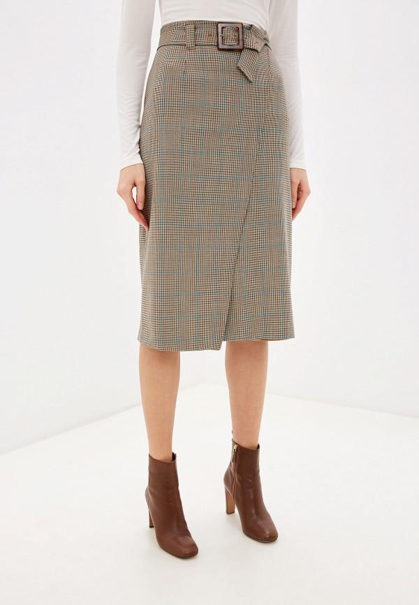 женская прямые юбка laurel, бежевая