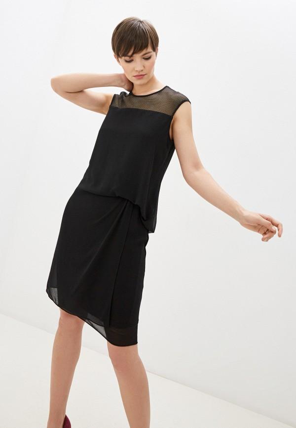 женское платье-футляр laurel, черное