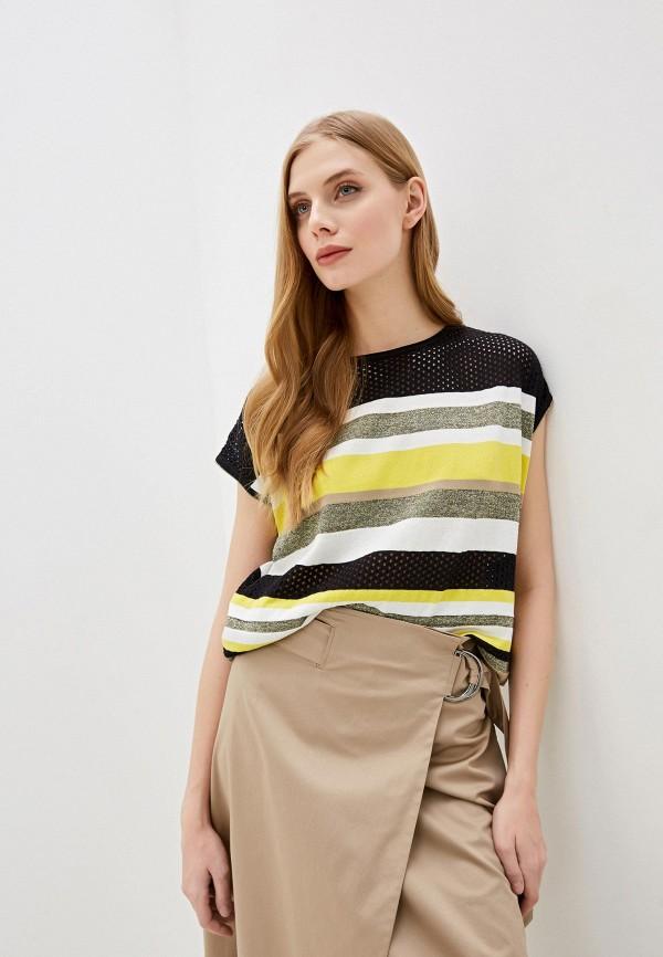 женская футболка laurel, разноцветная