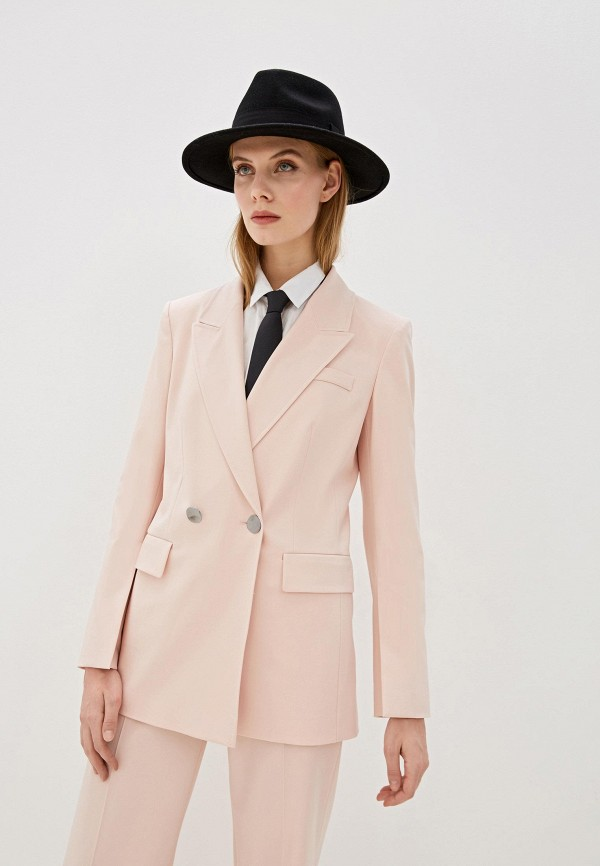 женский пиджак laurel, розовый