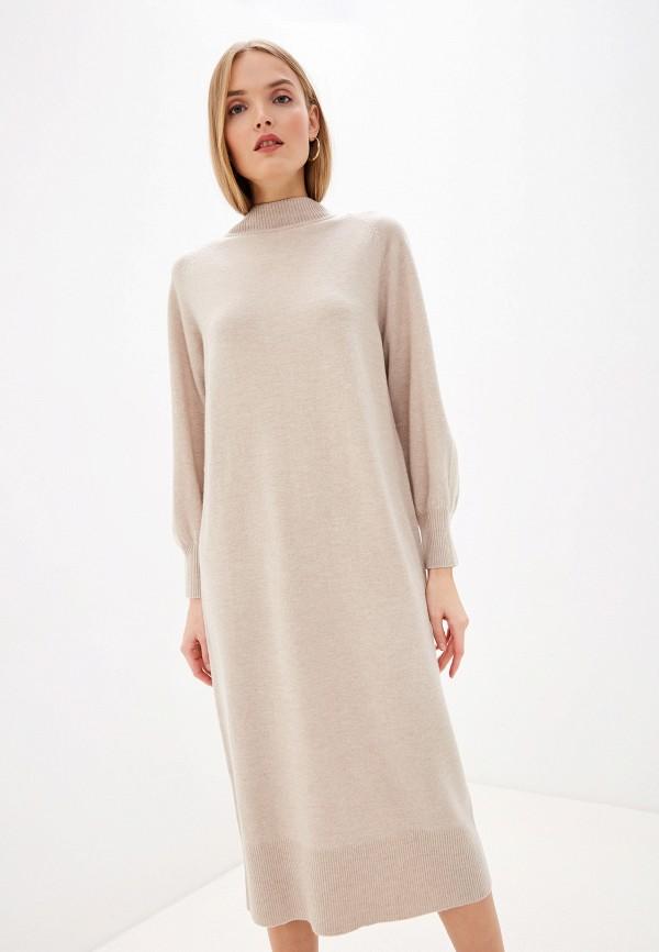 женское платье laurel, бежевое