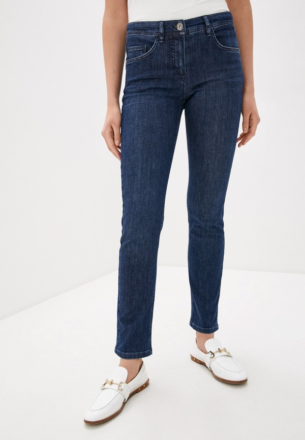женские прямые джинсы laurel, синие