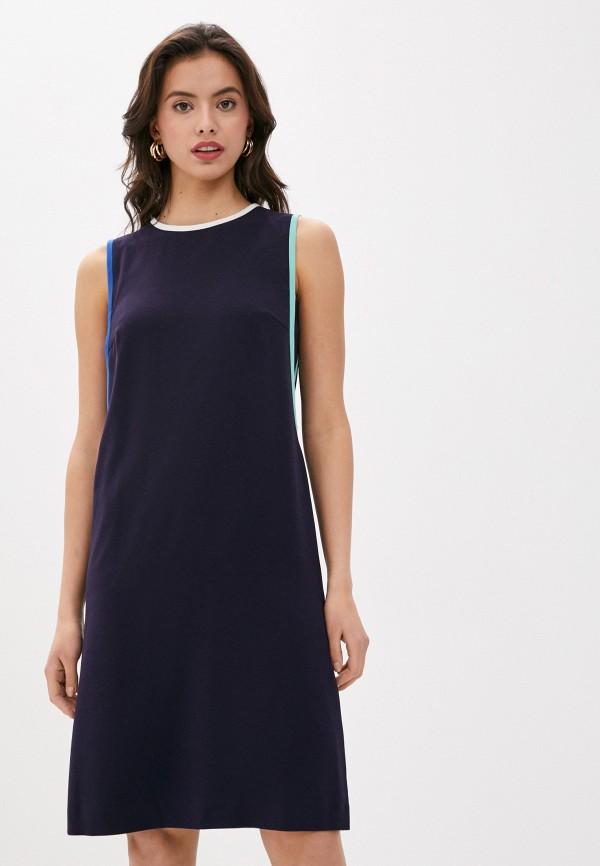 женское повседневные платье laurel, синее