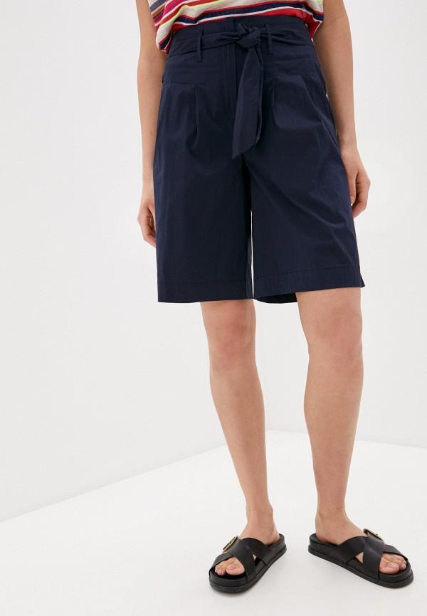 женские повседневные шорты laurel, синие