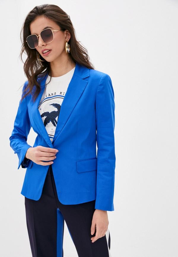 женский пиджак laurel, голубой