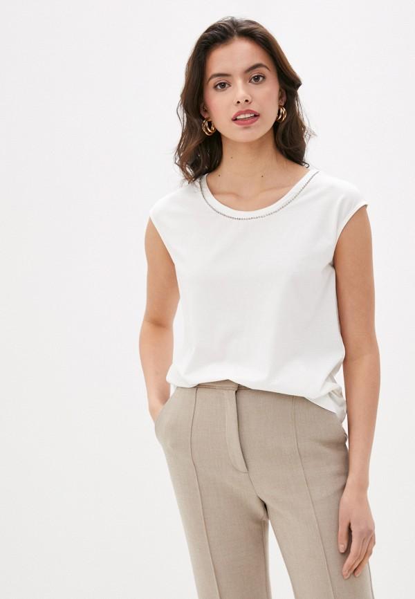 женская футболка laurel, белая