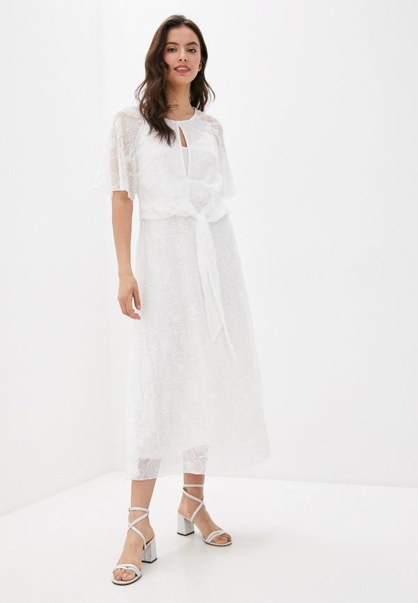 женское повседневные платье laurel, белое