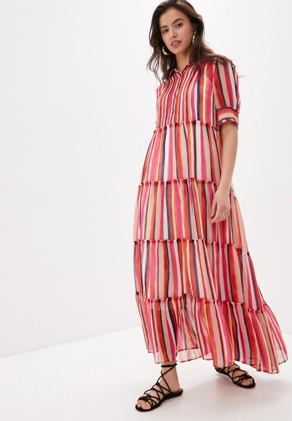 женское повседневные платье laurel, разноцветное