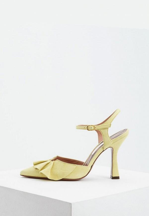женские туфли l'autre chose, желтые
