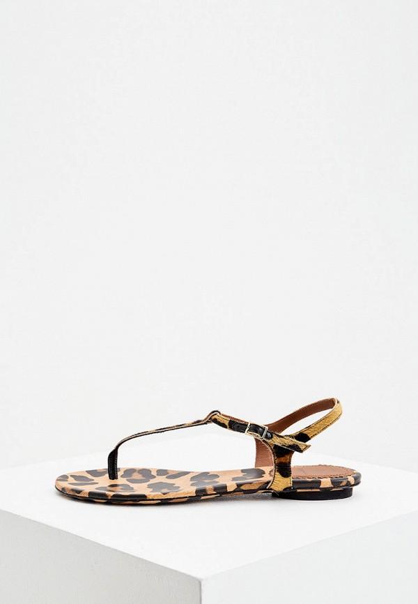 женские сандалии l'autre chose, коричневые