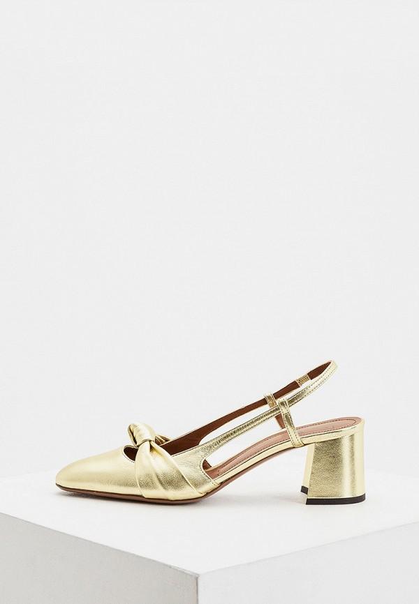 женские туфли l'autre chose, золотые