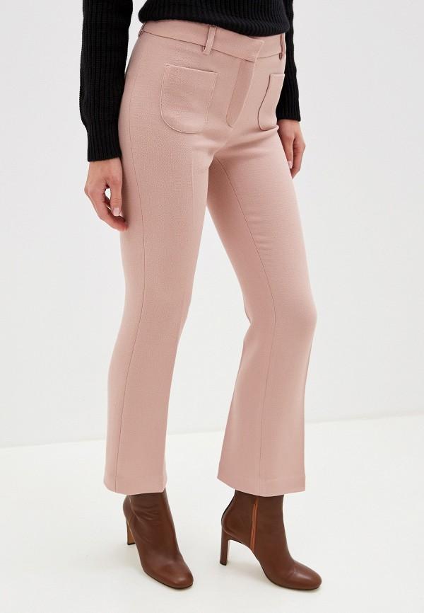 женские повседневные брюки l'autre chose, розовые
