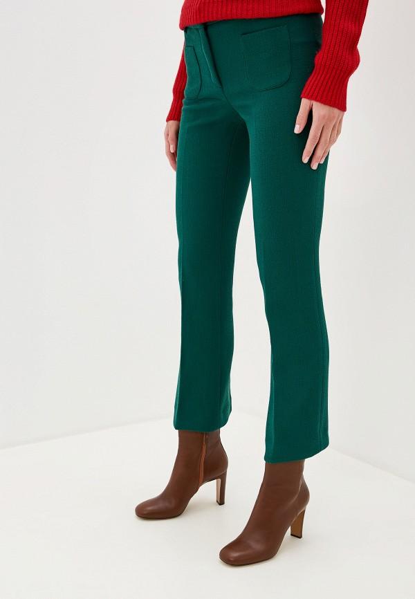женские повседневные брюки l'autre chose, зеленые