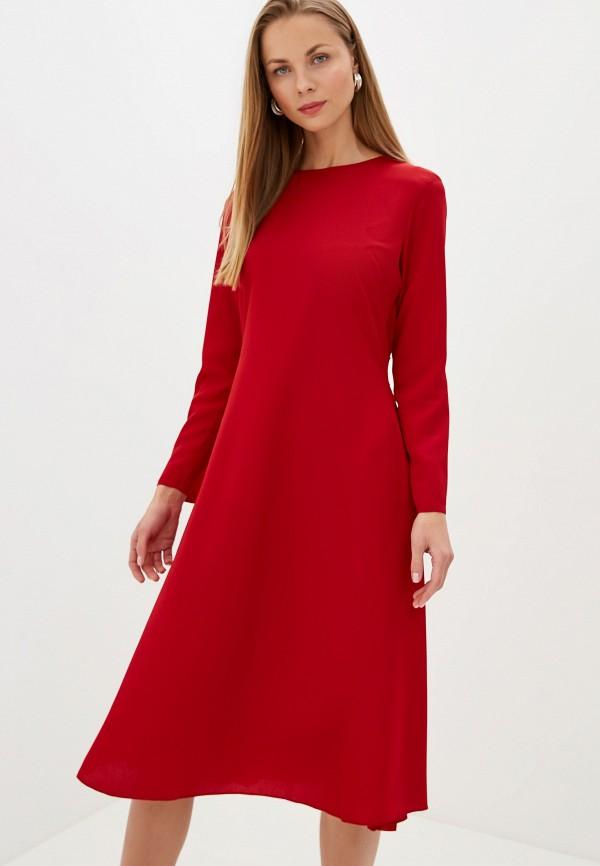 женское повседневные платье l'autre chose, красное