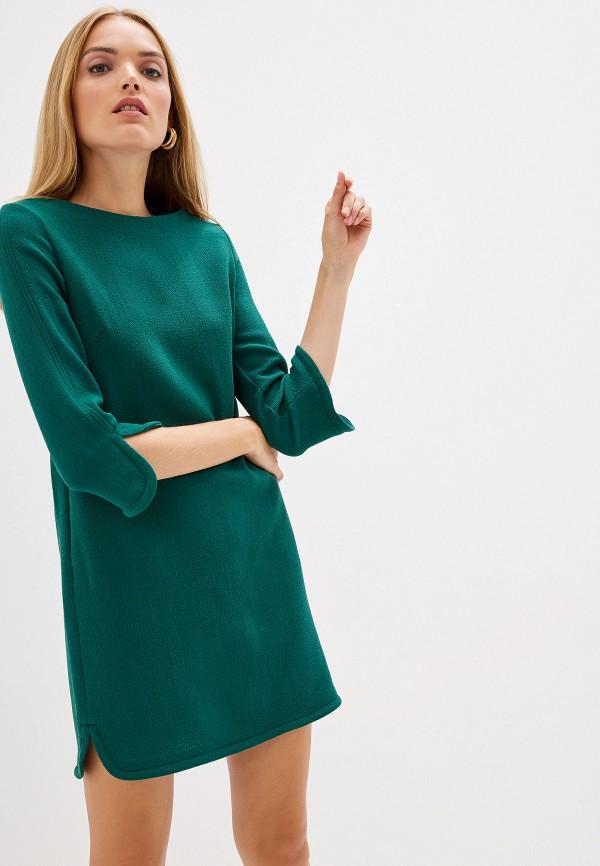 женское повседневные платье l'autre chose, зеленое