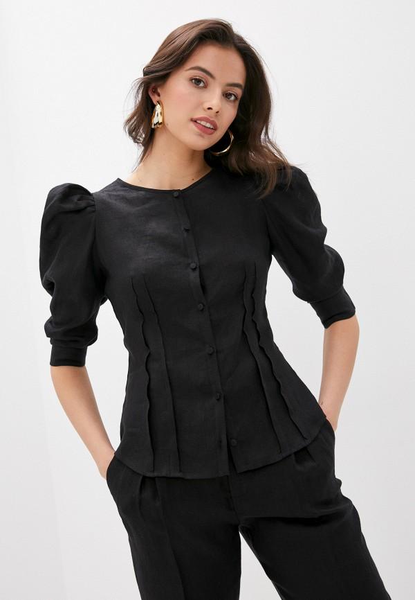 женская блузка l'autre chose, черная