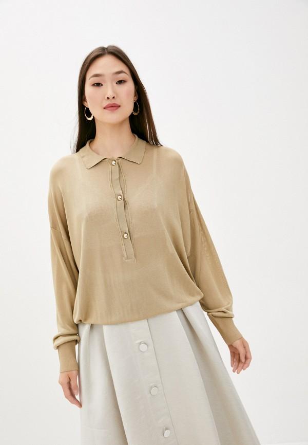 женская блузка l'autre chose, бежевая