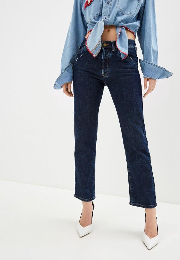 женские прямые джинсы l'autre chose, синие