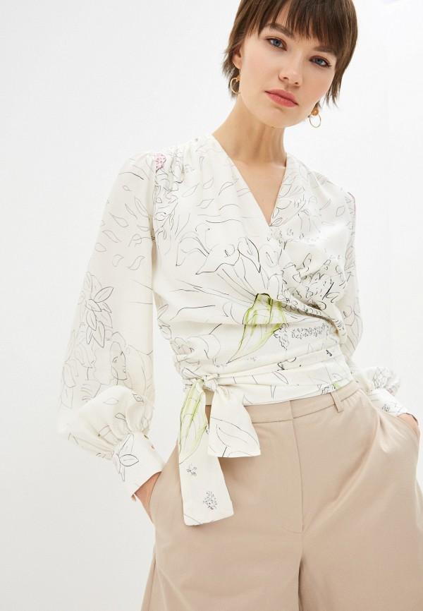 женская блузка l'autre chose, белая