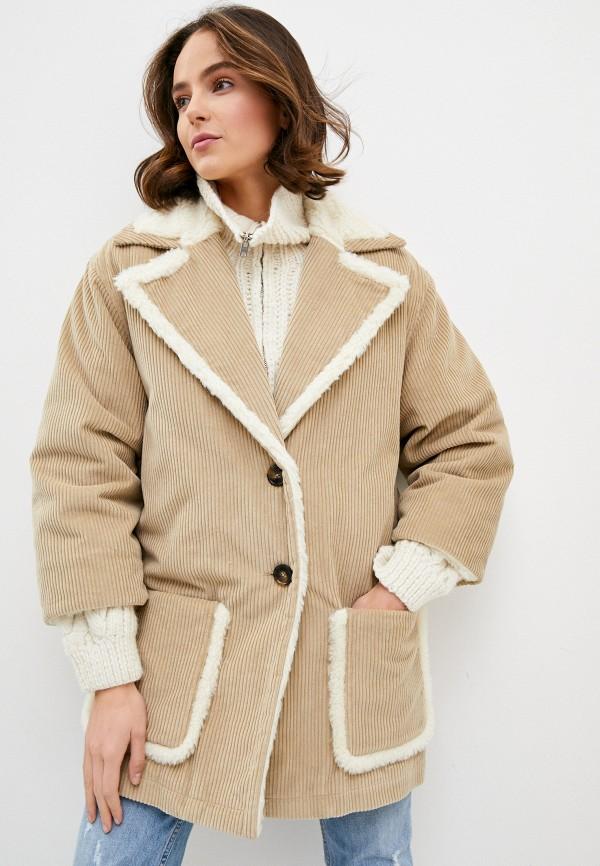 женская куртка l'autre chose, бежевая