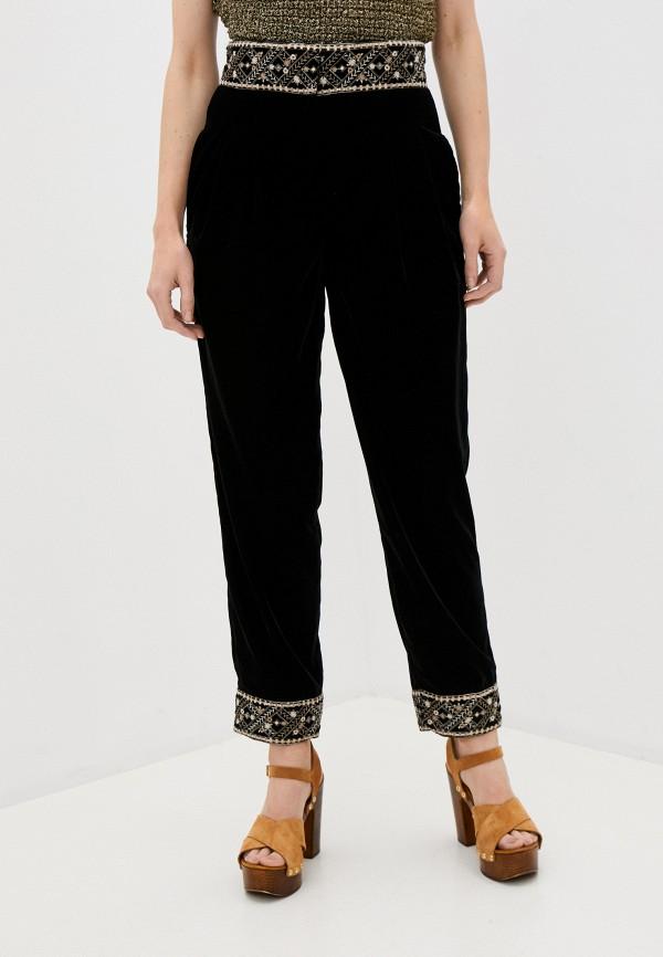 женские повседневные брюки l'autre chose, черные