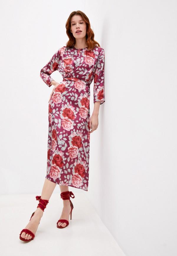 женское повседневные платье l'autre chose, розовое