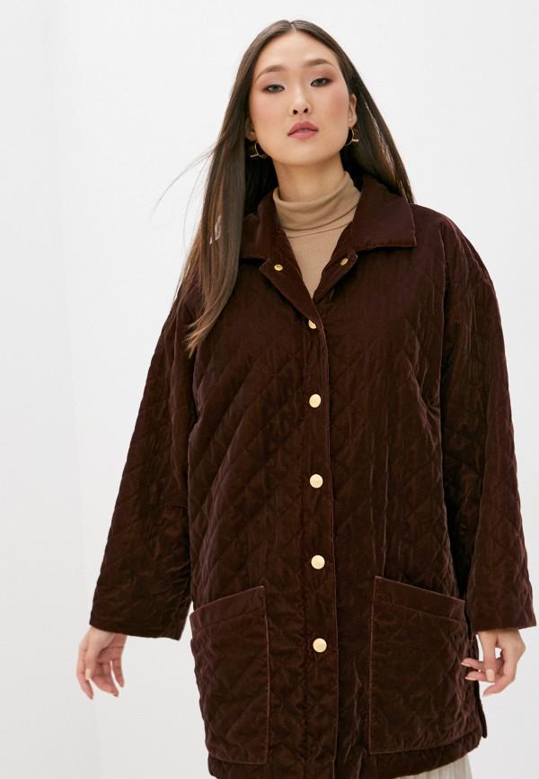 женская куртка l'autre chose, коричневая