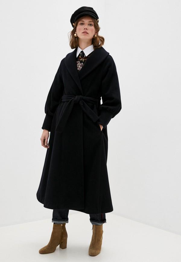 женское пальто l'autre chose, синее