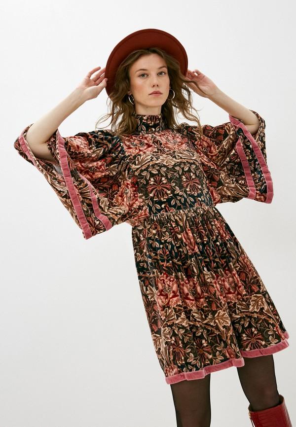женское повседневные платье l'autre chose, разноцветное