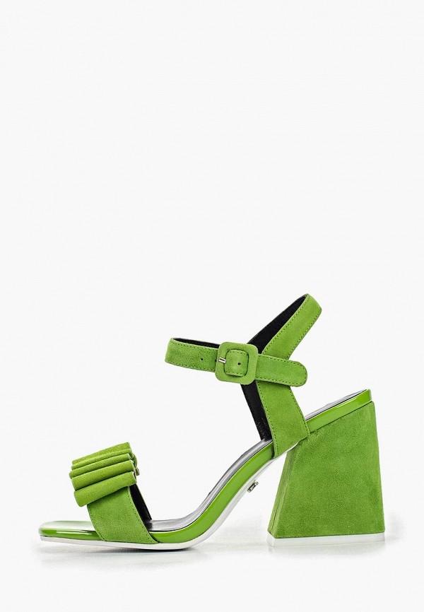 женские босоножки laura valorosa, зеленые