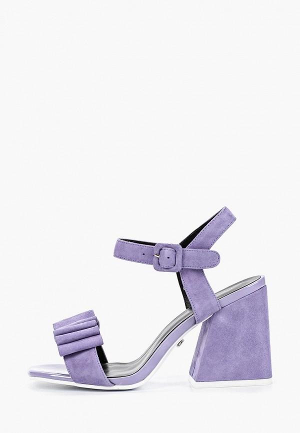 женские босоножки laura valorosa, фиолетовые