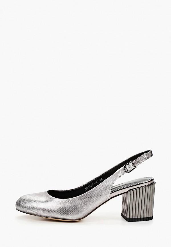 женские туфли laura valorosa, серебряные