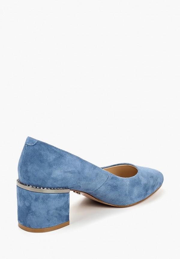 Фото 3 - женские туфли Laura Valorosa синего цвета