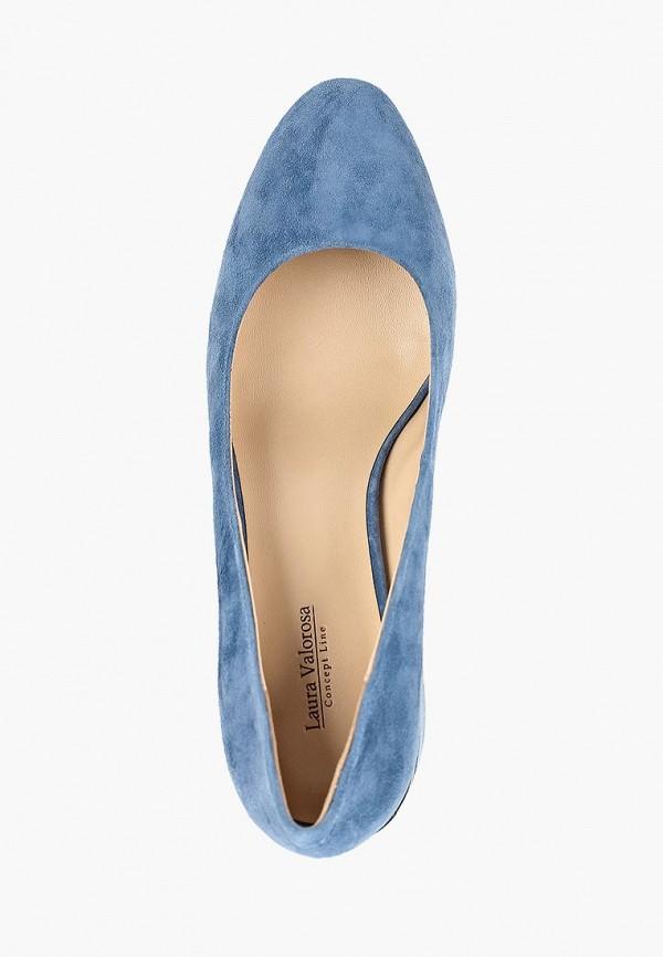 Фото 4 - женские туфли Laura Valorosa синего цвета