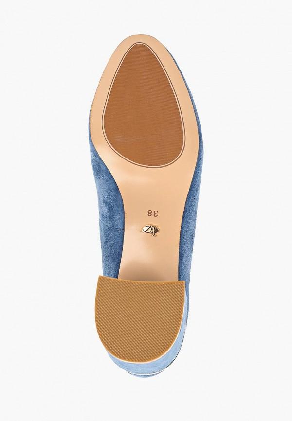 Фото 5 - женские туфли Laura Valorosa синего цвета