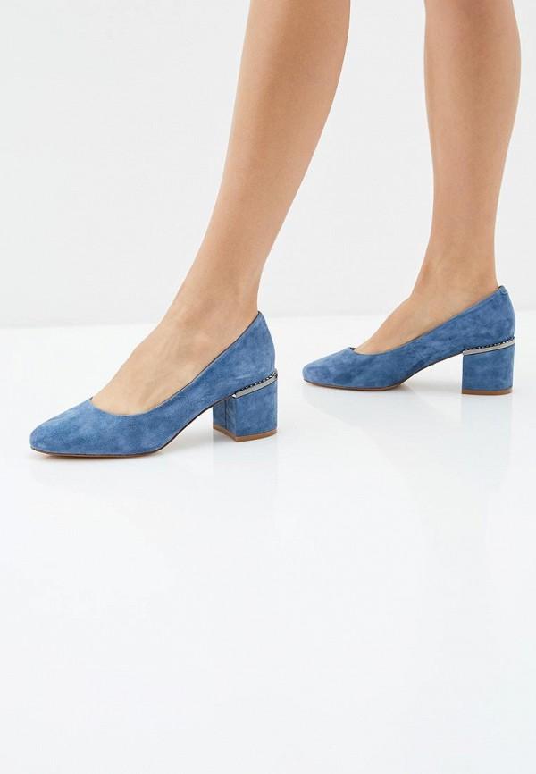 Фото 6 - женские туфли Laura Valorosa синего цвета